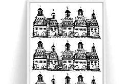 Plakat Kamieniczki