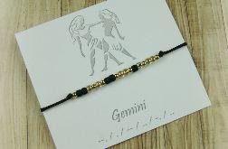 Gemini Bransoletka Zodiak Morse Code