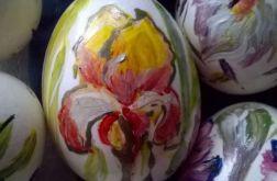 Kurze Jajeczka Malowane Żółte