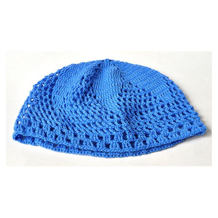 9 szydełkowa czapka na lato