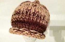 Melanżowa czapka zimowa