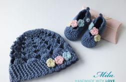 Komplet niemowlęcy Flowers II