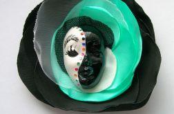 Broszka z kolekcji Masquerade - Mięta