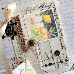 Rustykalny kuchenny notes