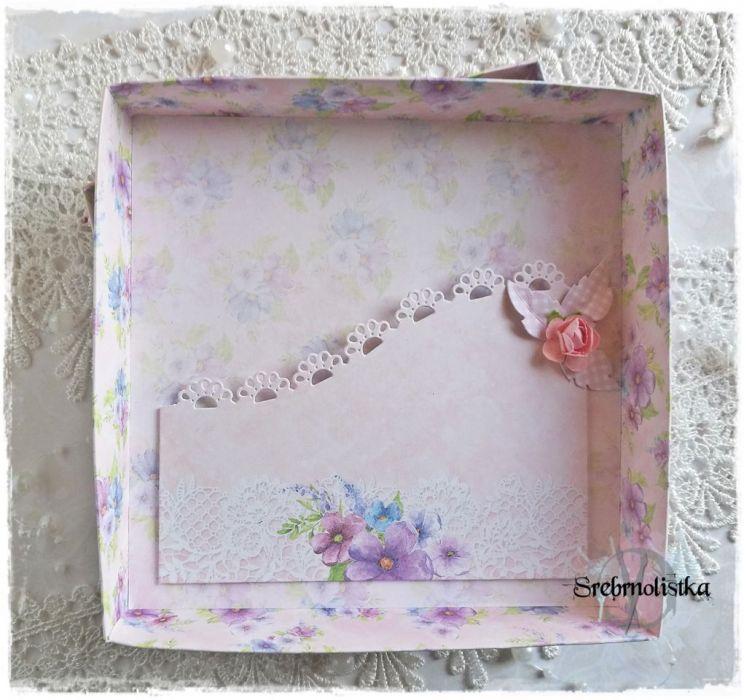 Kartka ślubna w pudełku, vol.1