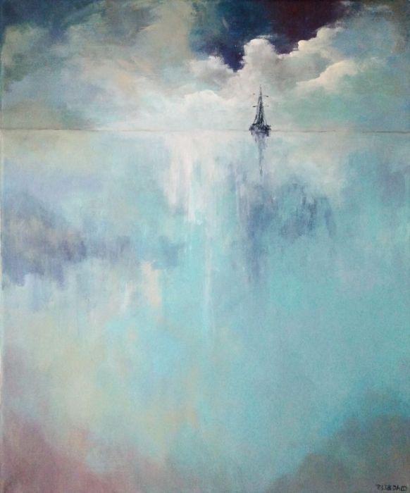 MORZE-obraz akrylowy formatu 50/60 cm