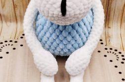 Owieczka na szydełku z miękkiej włóczki - Dol