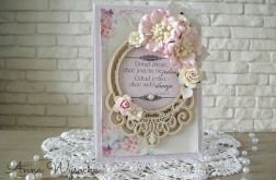 Ślubna z cytatem róż