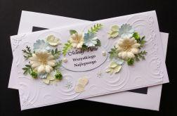 Komplet ślubny - kwiaty