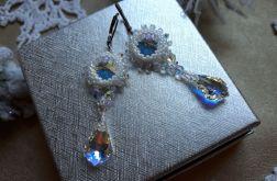 kolczyki z kryształkami Swarovski