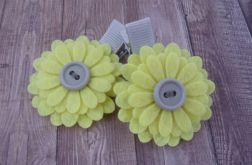 Nomma Spinki do włosów kwiatki żółte :)