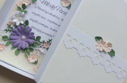 Kartka ślubna w pudełku z sentencją