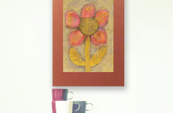 Rysunek kwiat nr 25-dekoracyjny obrazek