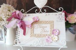 Bindowana Księga Gości z magnoliami