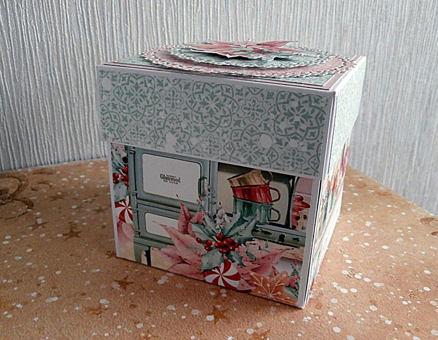Exploding box z pudełkami