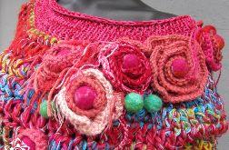 Różak sweter niebanalny