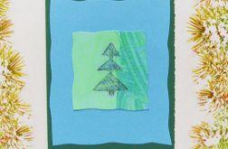 Kartka  świąteczna minimalizm 38