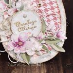 Wielkanocna pisanka z baziami I - Pisanka - detal II