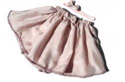 liliowa spódniczka wraz z opaską