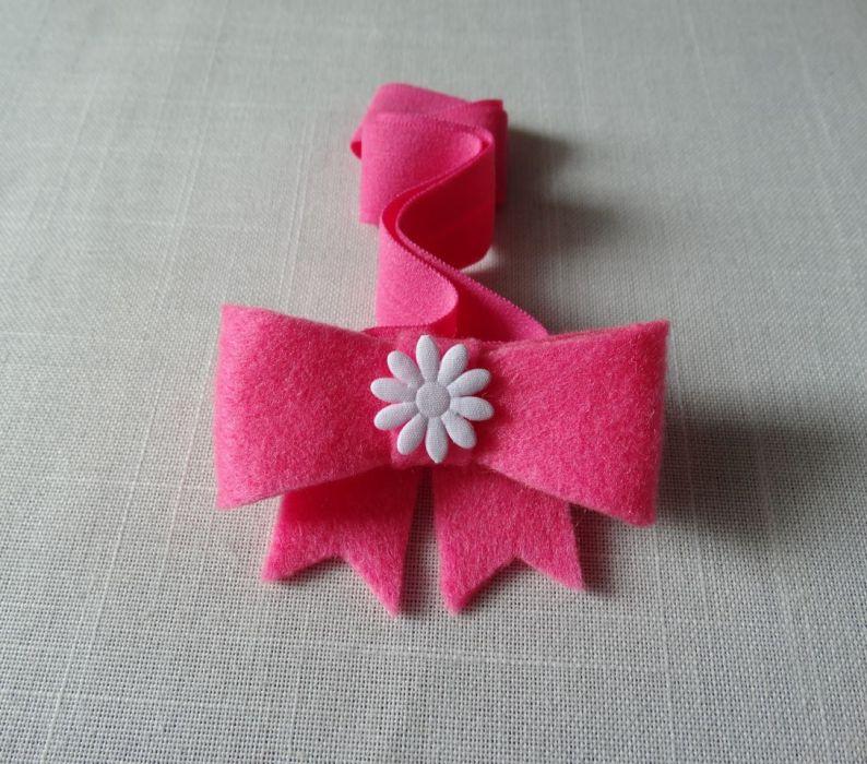 Opaska niemowlęca różowa