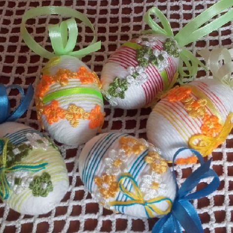 5 szt. Zawieszki-pisanki Wielkanocne