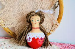 Brelok - Panna Ścinka - ręcznie malowana (5)