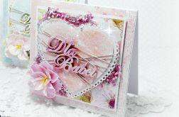 Kartka z Okazji Dnia Babci - serduszko