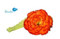 Opaska niemowlęca - Kwiat - 09