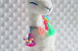 zabawka handmade LAMA DAMA / NA ZAMÓWIENIE