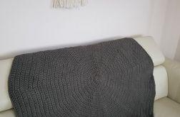Dywan okrągły w kolorze  KHAKI