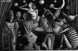 Bańki - oryginalny rysunek 0004