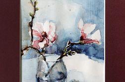 Wiosenne kwiaty w wazonie