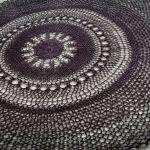 Obrus szydełkowy okrągły