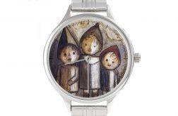 """Zegarek Art z bransoletą """"Troje dzieci"""""""