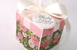 Pudełko na ślub Różowa Jesień