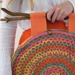 torebka kolorowa ażurowa