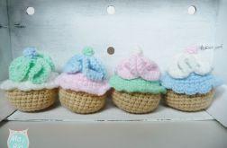 Słodkie babeczki zestaw x4