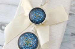 Mandala - szklany medalion