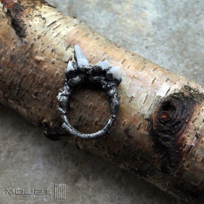 Stalagmitowy agat - rustykalny