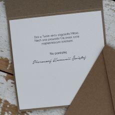 Pamiątka komunii - kartka na komunię