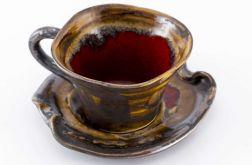 Filiżanka do kawy Magia w brązie