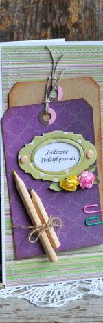 Kartka dla nauczyciela