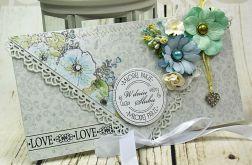 Kartka ślubna- wiosenne przebudzenie