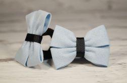 Gumka-frotka do włosów Marysia jasnoniebieski
