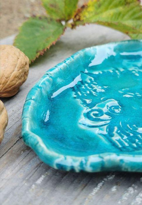 Ceramiczny talerzyk, paterka (c25)