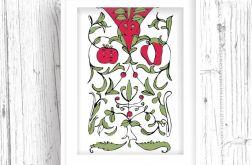 Ziołowe Ornamenty II... art print