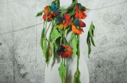 Naszyjnik z ficu Kwiat