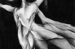 Tańcząca - plakat A3