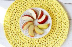 Żółta bawełniana podkładka