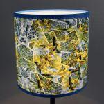 Błękitno-zielona lampa nocna sEN kOSIARZA 5 S - Lampa daje ładne, rozproszone światło